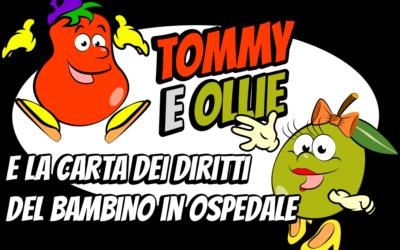 Presentazione Carta dei Diritti del Bambino in Ospedale e APP Tommy e Ollie