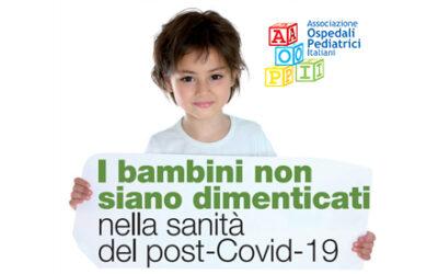 I bambini non siano dimenticati nella sanità del post-Covid19 – Intervista a Alberto Zanobini