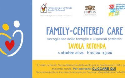 Family-Centered Care. Accoglienza delle famiglie e Ospedali pediatrici